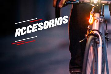 Compra de accesorios para bicicletas en Medellín