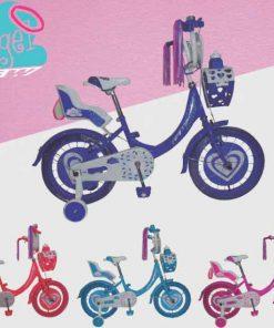 "Bicicleta infantil GW ÁNGEL - Rin 20"""
